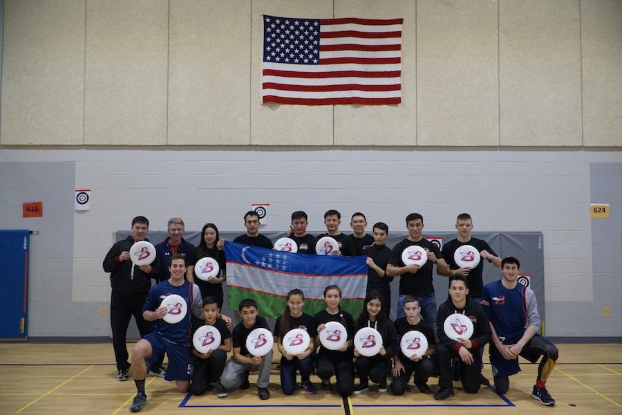 Uzbekistan ultimate frisbee clinic